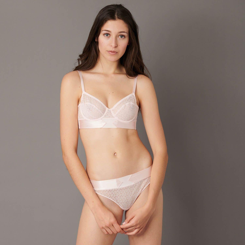Mini bustier bra - Paradise Pink
