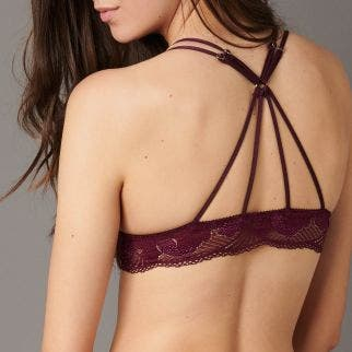 Non wired soft cup bra - Amethyst