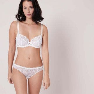 Tulip full cup bra - Natural