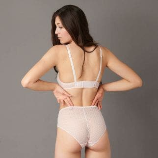 High waist brief - Paradise Pink