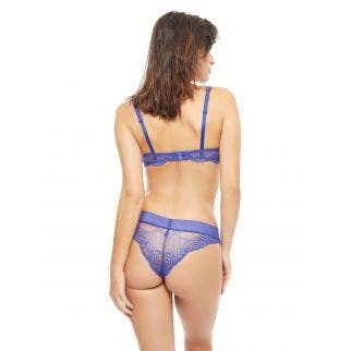 Half cup bra - Electric blue