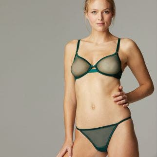 Moulded bra - Amazonia Green