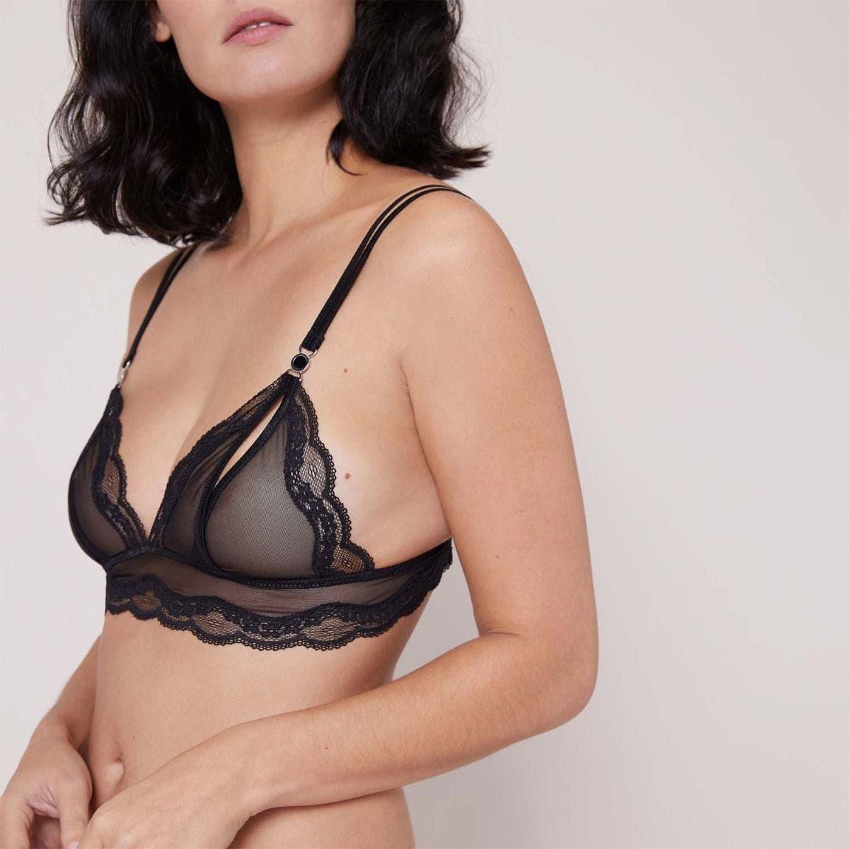 Explicite balconet bra - Black