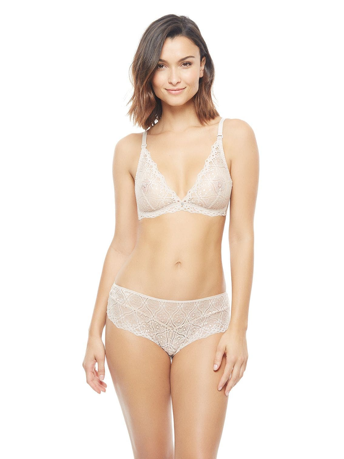 Soft cup triangle bra - Dawn