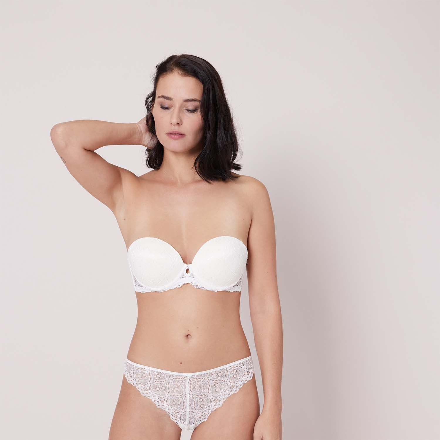 Strapless bra - Natural