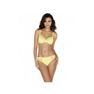 Tulip full cup bra - Yellow