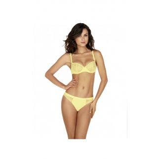 Half cup bra - Yellow